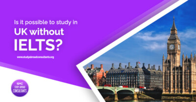 Is it possible to study in UK without IELTS
