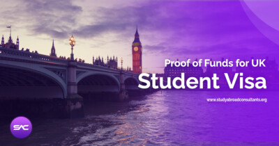 Proof of Funds (financial capacity) for UK student Visa fb
