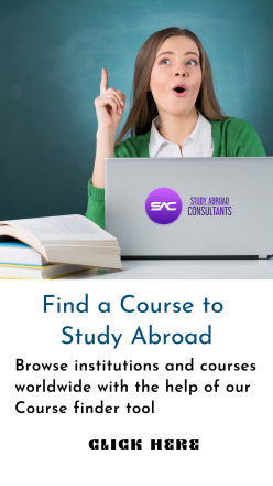 Find a Course to study abroad